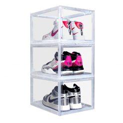 """Sneaker Head """"DROP FRONT"""" Shoe Box"""