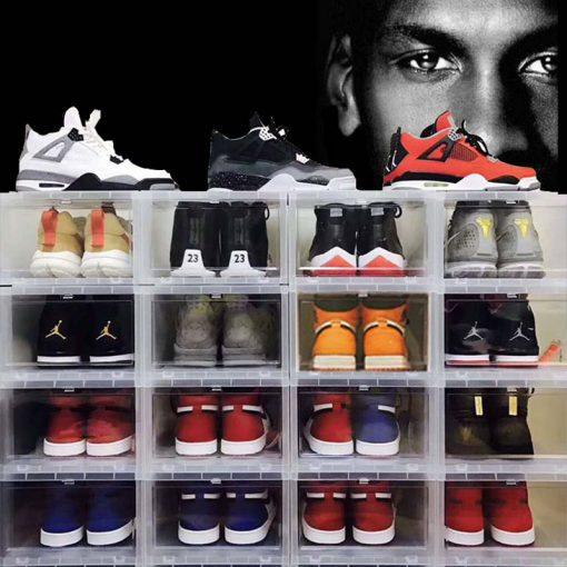 "Sneaker Head ""DROP FRONT"" Shoe Box"