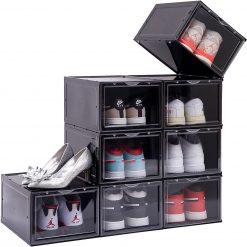 "Sneaker Head ""DROP FRONT"" Shoe Box i Sort"