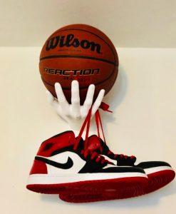 1 stk Sneakers Hånd i Hvid