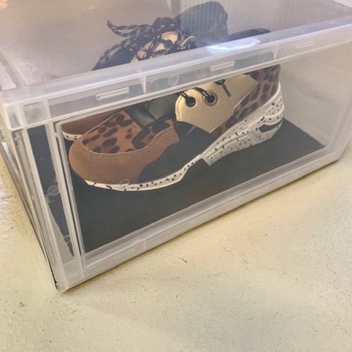 "10 stk Indlægsmåtte til Sneaker Head ""DROP FRONT"" Shoe Box i Sort"