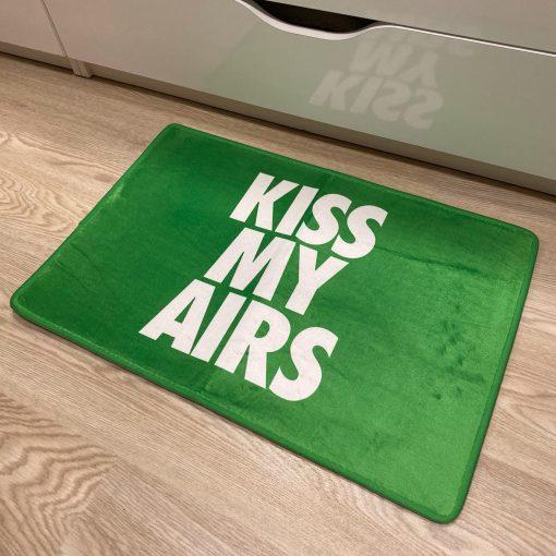 Kiss My Airs Sneaker Gulvmåtte i Grøn 50 x 80 cm