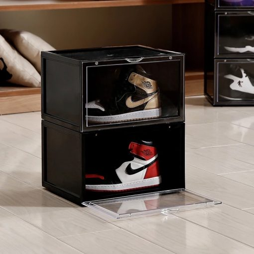 MAGNETIC Drop Side Sneaker Box i Sort